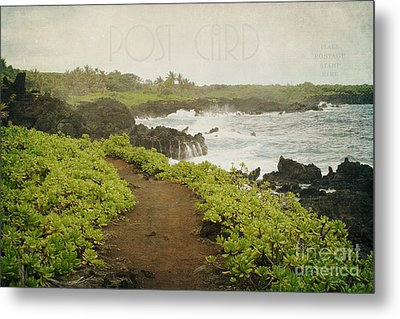 Waianapanapa Metal Print by Sharon Mau
