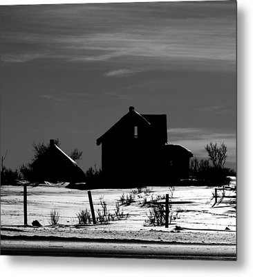 Waiting By The Pain Metal Print by Jerry Cordeiro