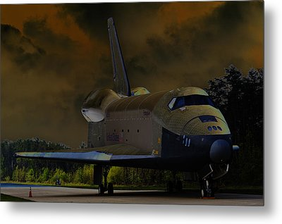 Waiting For Discovery Metal Print by Lawrence Ott