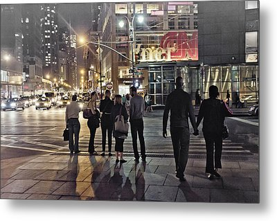 Waiting For The Green Light  Metal Print by Alex AG