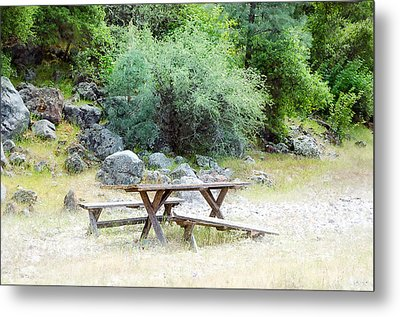 Metal Print featuring the photograph Waiting by Gary Rose