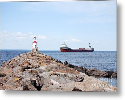 Waiting Point Metal Print by Whispering Feather Gallery