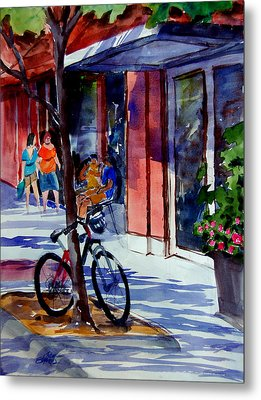 Waiting Metal Print by Ron Stephens