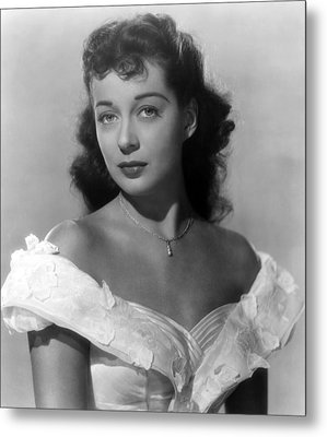 Wake Of The Red Witch, Gail Russell Metal Print by Everett
