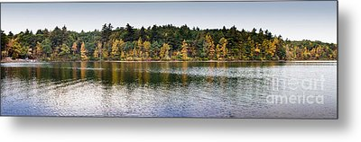 Walden Pond Panorama I Metal Print by Thomas Marchessault