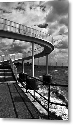 Metal Print featuring the photograph Walk Over Water by Trevor Chriss