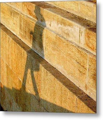 Walking On Sunshine #italy #genoa Metal Print