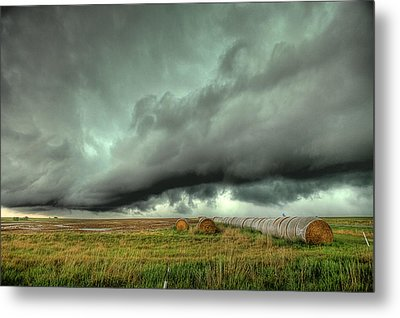 Wall Cloud Metal Print by Thomas Zimmerman