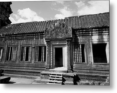 Metal Print featuring the photograph Wall Of Temple by Arik S Mintorogo