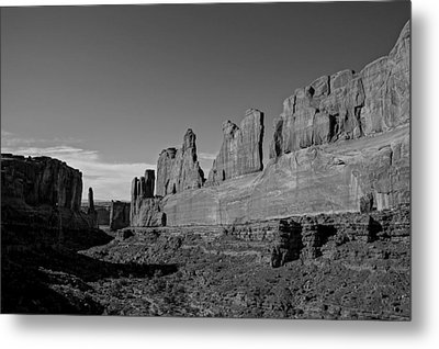 Wall Street Arches National Park Utah Metal Print by Scott McGuire