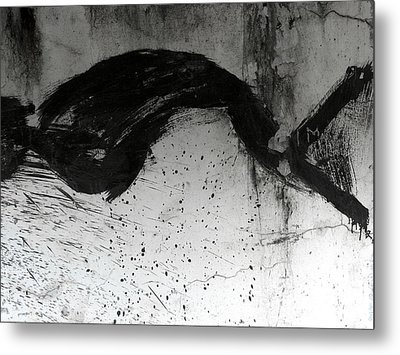Wall Texture Number 1 Metal Print by Carol Leigh