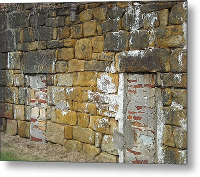 Metal Print featuring the photograph Walled In by Christophe Ennis