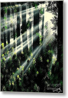 Waning Light Metal Print by Greg Moores