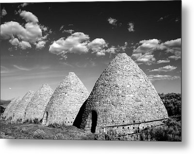 Ward Charcoal Ovens Metal Print by Scott McGuire