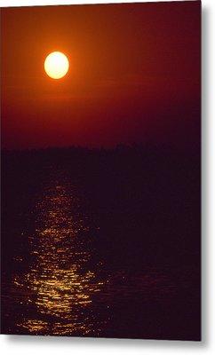 Warm Sunset Metal Print by Al Hurley