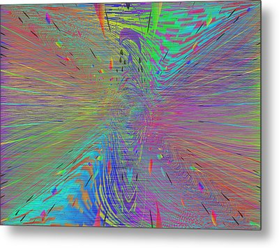 Warp Of The Rainbow Metal Print by Tim Allen