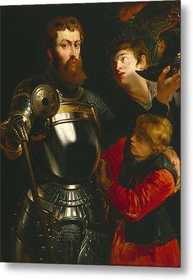 Warrior  Metal Print by Peter Paul Rubens