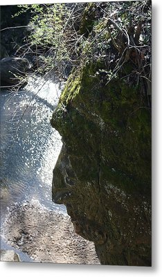 Warrior Rock Metal Print