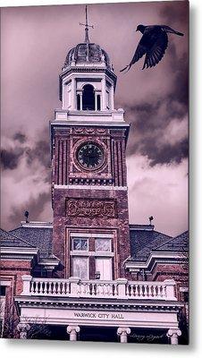 Warwick City Hall Metal Print