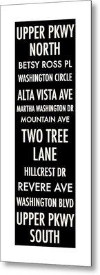 Washington Highlands Metal Print