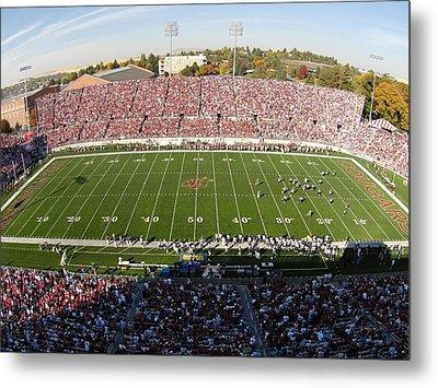 Washington State Martin Stadium  Metal Print by Washington State University - Marketing and Communications
