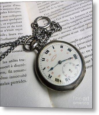 Watche Metal Print by Bernard Jaubert