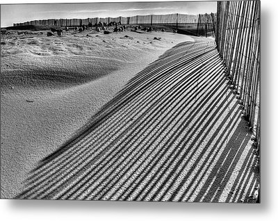Watching Shadows Bw Metal Print by JC Findley