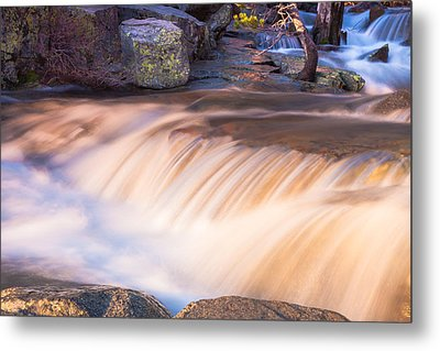Water And Rocks Metal Print by Marc Crumpler