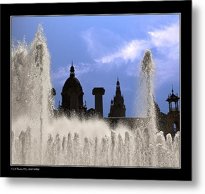 Metal Print featuring the photograph Water And Shadows by Pedro L Gili