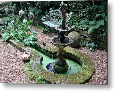 Metal Print featuring the photograph Water Feature by Katy Mei