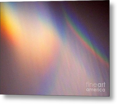 Water Rainbow Metal Print by Phyllis Kaltenbach