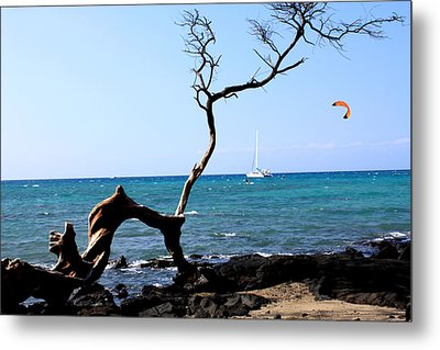 Metal Print featuring the photograph Water Sports In Hawaii by Karen Nicholson