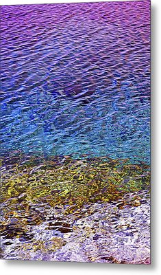 Water Surface  Metal Print
