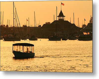 Metal Print featuring the photograph Water Taxi by Coby Cooper
