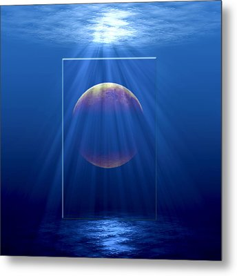Water World Metal Print by Gordon Engebretson