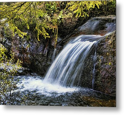 Metal Print featuring the photograph Waterfall by Hugh Smith