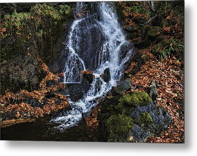 Waterfall Metal Print by Lawrence Christopher