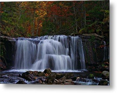 Waterfall Svitan Metal Print