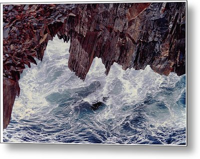 Metal Print featuring the photograph Water's Fury by Patricia Hiltz