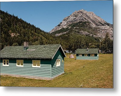 Metal Print featuring the photograph Waterton Camp Kitchens by Trever Miller