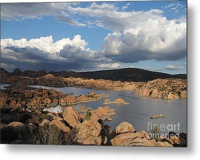Watson Lake 3  Metal Print by Diane Greco-Lesser