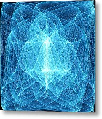 Wave Patterns Metal Print by Pasieka