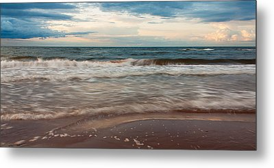 Waves Metal Print by Matt Dobson