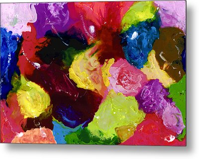 Wax Rainbow On Canvax Two K O One Metal Print by Carl Deaville