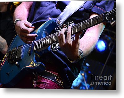We Will Rock You Metal Print by Bob Christopher