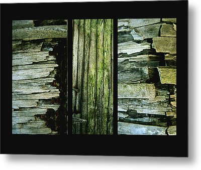 Weathered Metal Print by Ann Powell