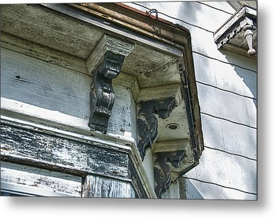 Weathered Metal Print by Guy Whiteley
