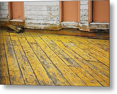 Metal Print featuring the photograph Weathered Monterey Building by Shane Kelly