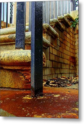 Weathering Heights  Metal Print by Tammy Cantrell