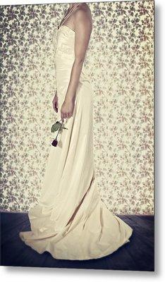 Wedding Dress Metal Print by Joana Kruse